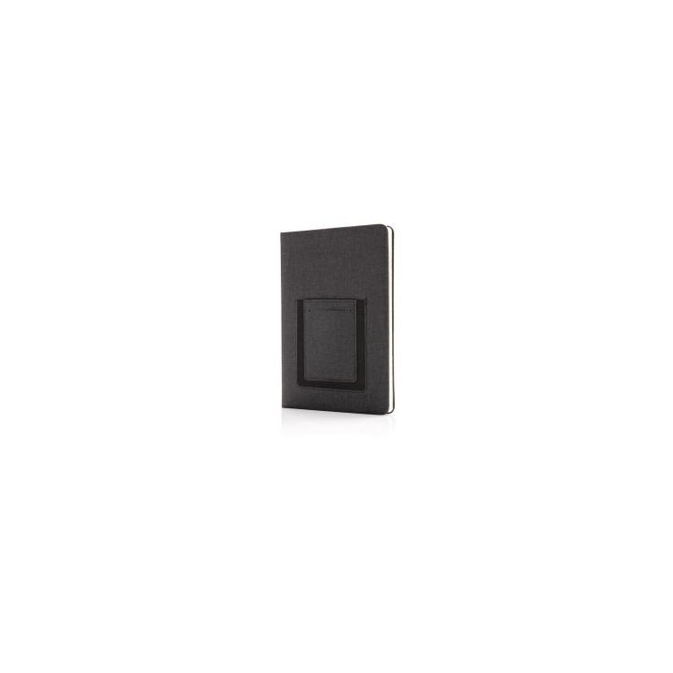 Carnet A5 avec pochette téléphone - Produits publicitaire