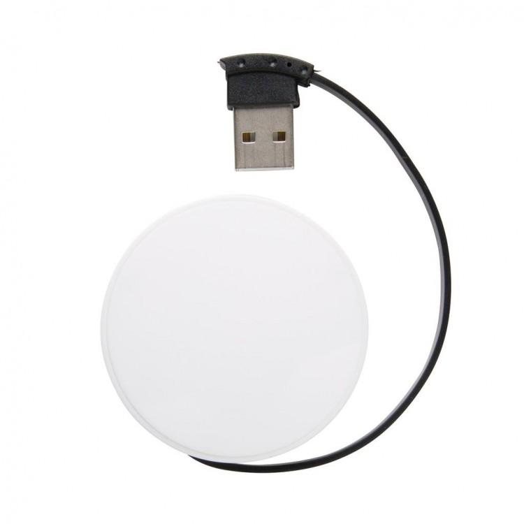 Hub USB avec câble intégré publicitaire - Hub personnalisé