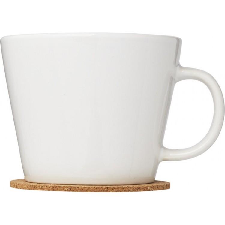 Ensemble de 2 tasses avec sous-tasse publicitaire - Tasse personnalisée