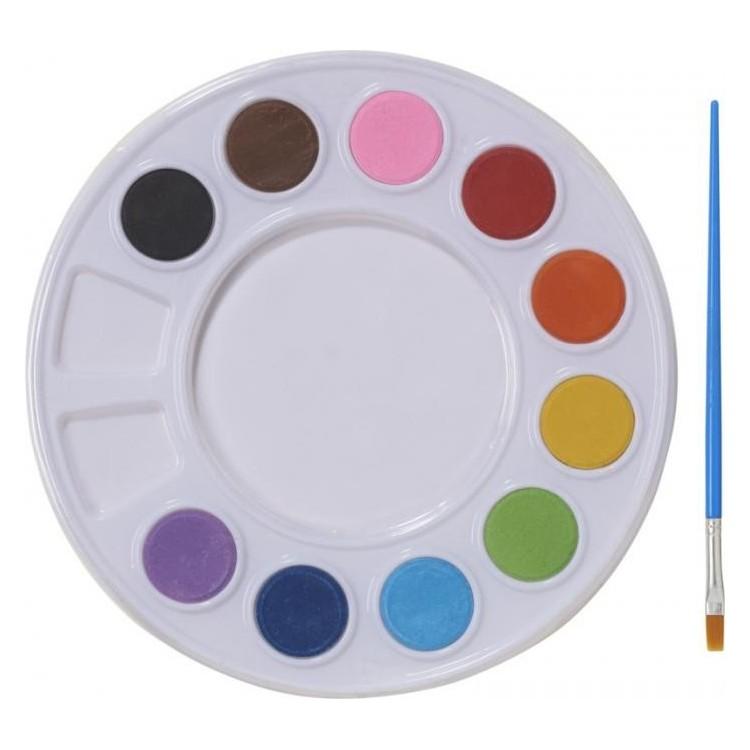 Palette de peinture à l'eau - Enfants avec logo
