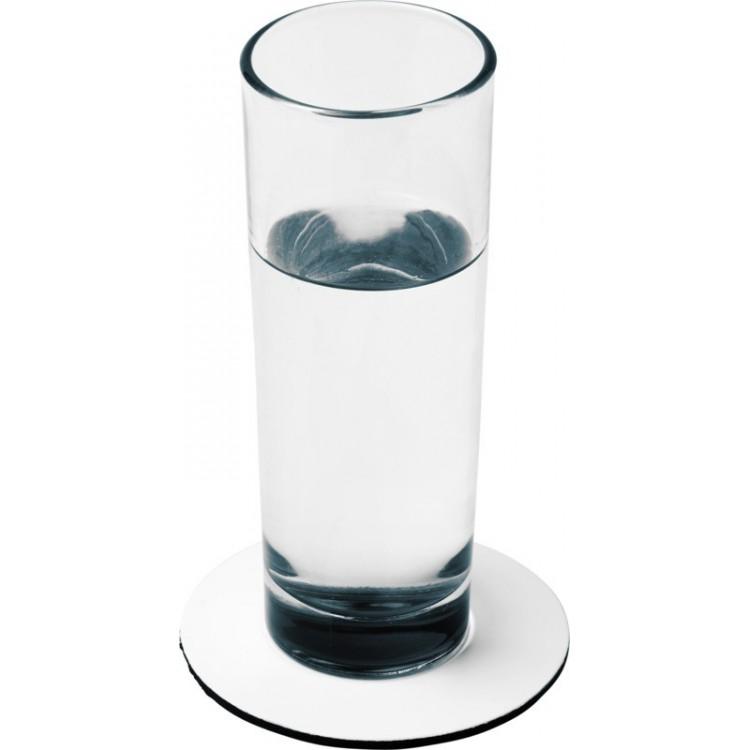 Sous-verre rond Q-Mat® - Produits personnalisable