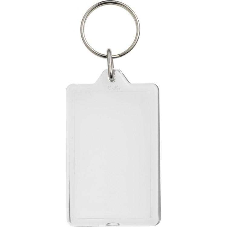 Porte-clés réouvrable publicitaire - Porte-clé plastique personnalisé