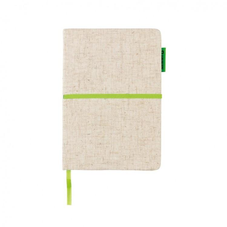 Carnet A5 en papier de bambou personnalisé - Carnet personnalisable