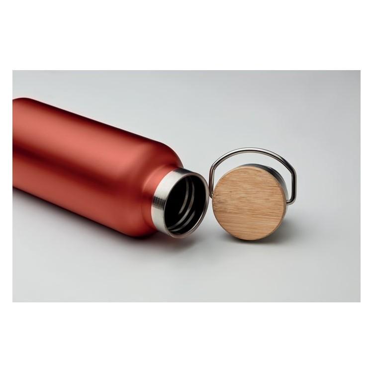 Flacon double paroi 500 ml - Bouteille isotherme avec logo