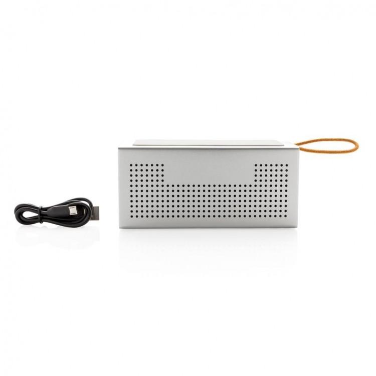 Haut-parleur avec chargeur à induction - Chargeur publicitaire