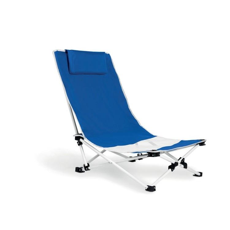 Chaise de plage avec appui-tête publicitaire - Produit divers personnalisé