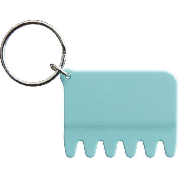 Brosse-clavier en silicone et porte-clés - Produits personnalisé
