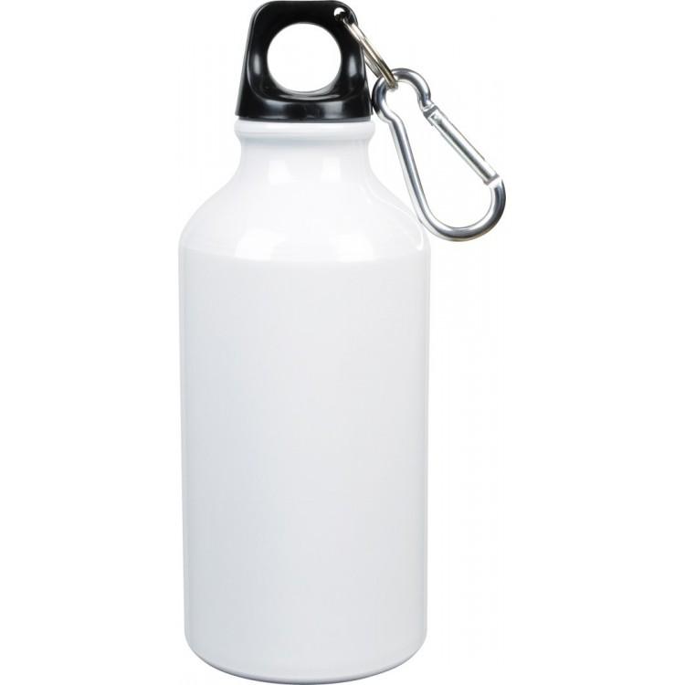 Gourde aluminium (400 ml) - Bouteille avec logo