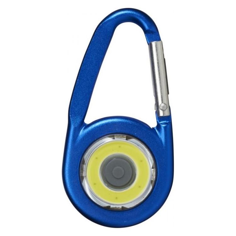 Mousqueton avec lampe publicitaire - Porte-clé personnalisé