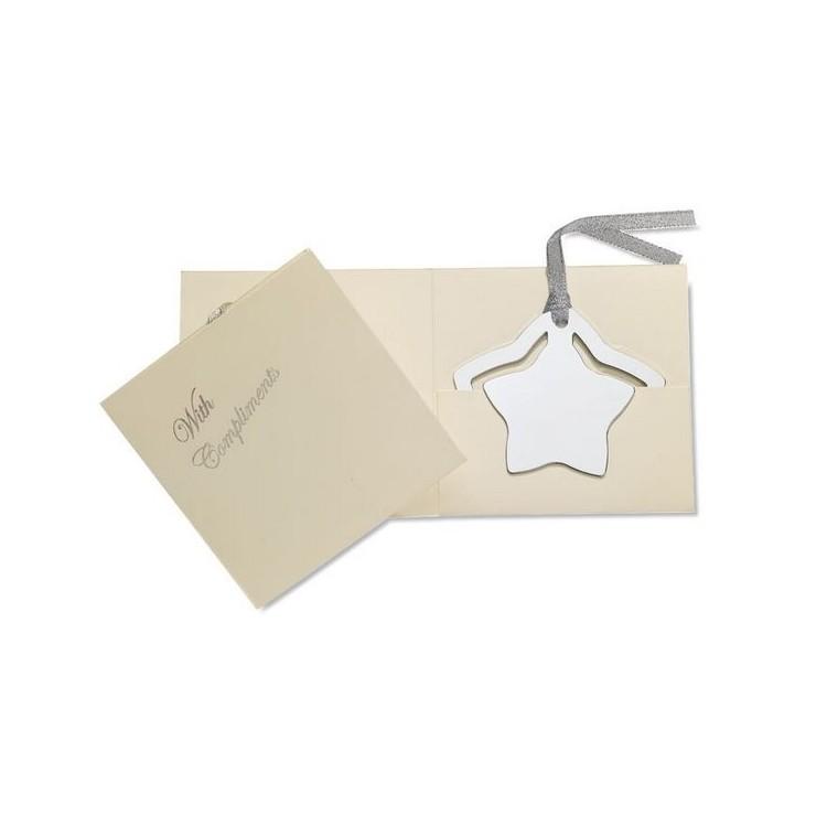 Marque page étoile personnalisé - Noël personnalisable