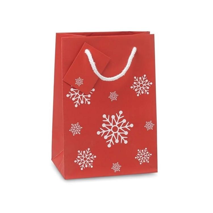 Sac cadeau petit format 16 x 23cm publicitaire - Noël personnalisé