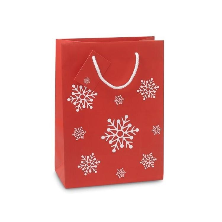 BOSSA - Sac cadeau moyen format 22 x 30cm personnalisé - Noël personnalisable