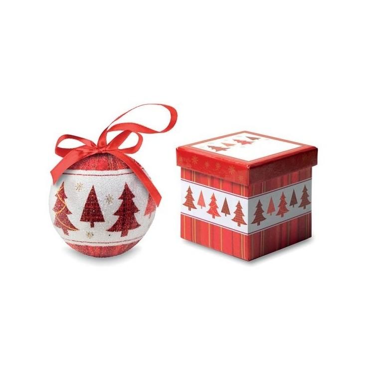 Boule de Noël et boîte assortie - Produits personnalisable