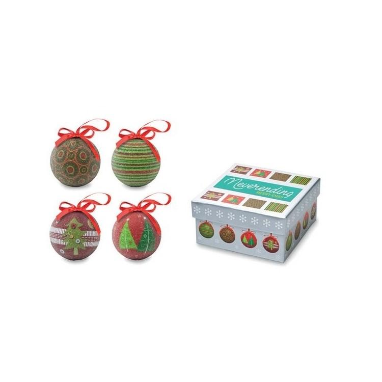 Ensemble de boules de Noël - Produits personnalisé