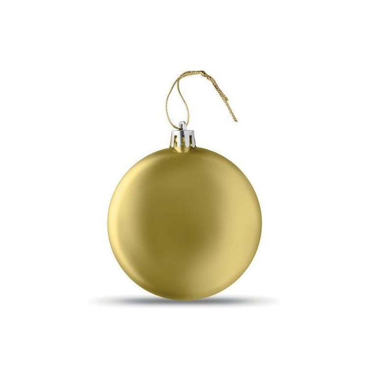 Boule de Noël plate - Produits publicitaire