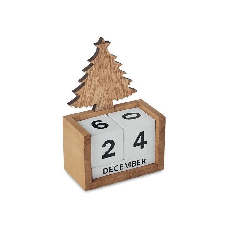 Calendrier de bureau de Noël - Produits publicitaire