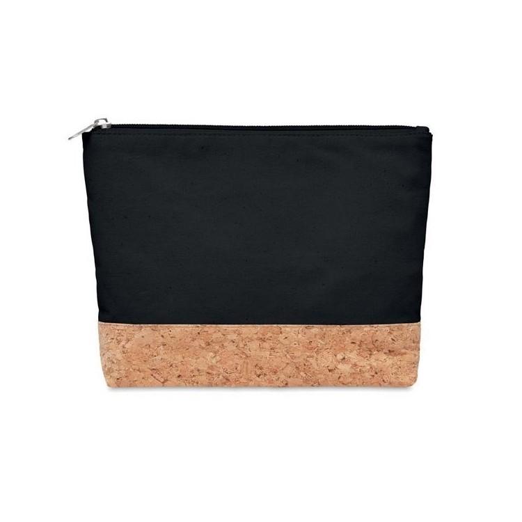 Trousse liège & coton - Beauté / Santé avec logo