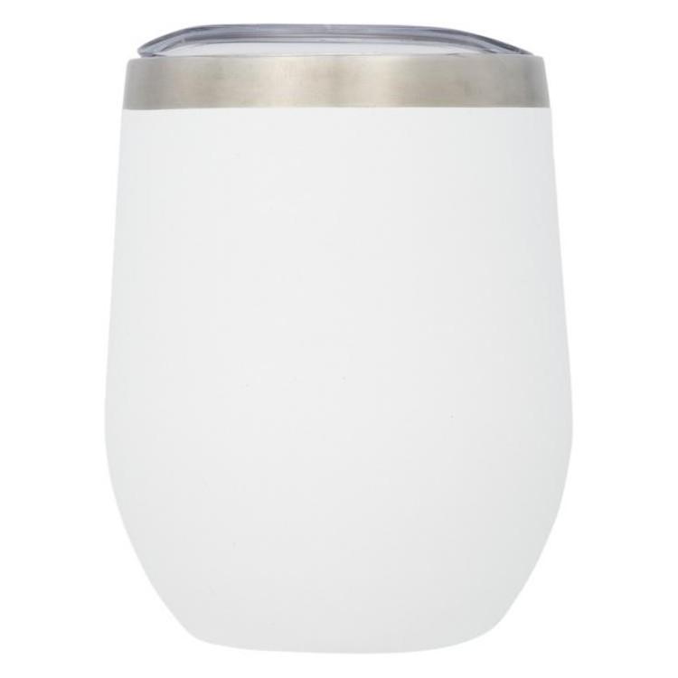 Tasse isotherme 35cl, double paroi et cuivre publicitaire - Gobelet personnalisé