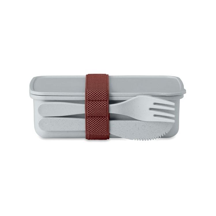 Lunch box en fibre de bambou - Produits avec logo